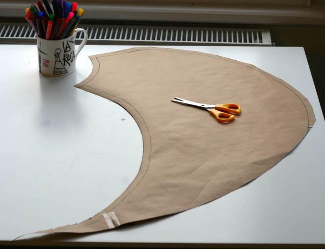 Circus Circle Skirt Pattern Tutorial