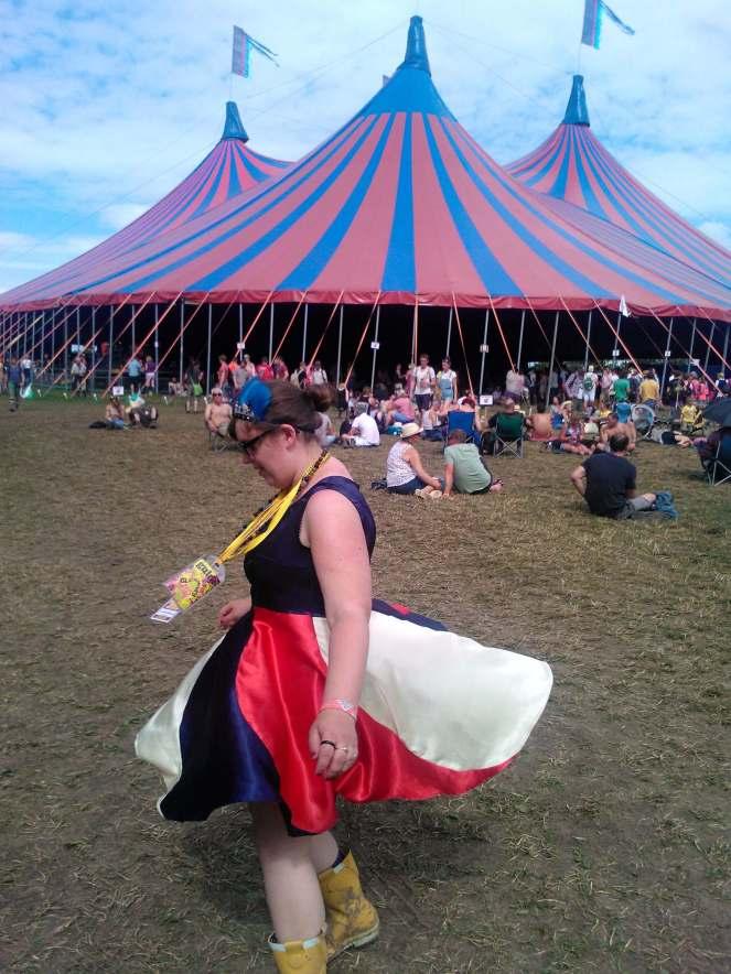 Glastonbury Circus Dress
