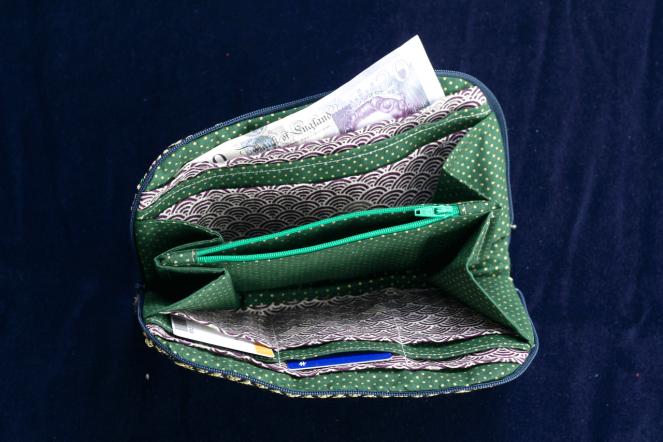 Golden Greenbacks Wallet - 2